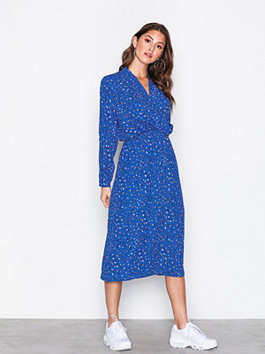 Vero Moda Vmdee Wl Calf Dress Ga Blå