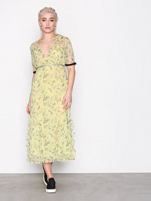 Topshop Rodeo Print Midi Dress