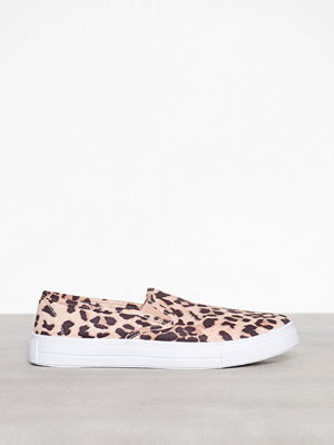 NLY Shoes Slip In Sneaker Leopard