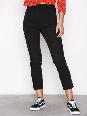 Topshop svarta byxor Regular Cigarette Trousers Black