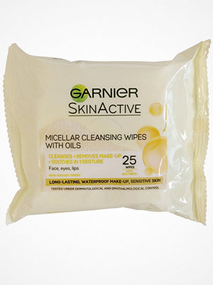 Ansikte - Garnier Micellar Cleansing Wipes With Oils Transparent