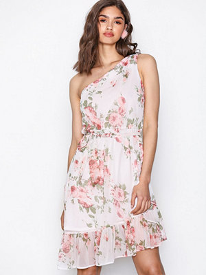 NLY Trend One Shoulder Frill Dress