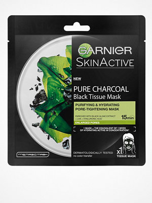 Garnier Charcoal Tissue Mask Black Algae