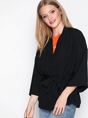 Vero Moda Vmdoll Kimono Jacket Ga Svart