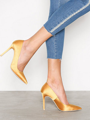 NLY Shoes Slim Pump Gul