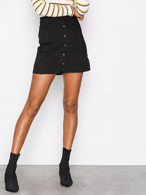 Gina Tricot Miranda denim skirt Black