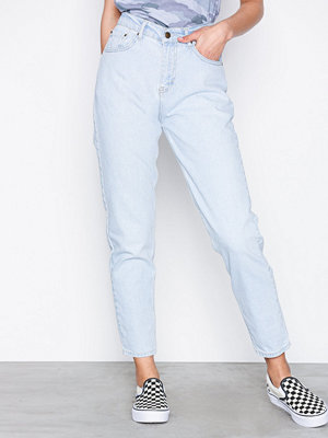 NLY Trend High Waist Vintage Denim Light Blue Denim