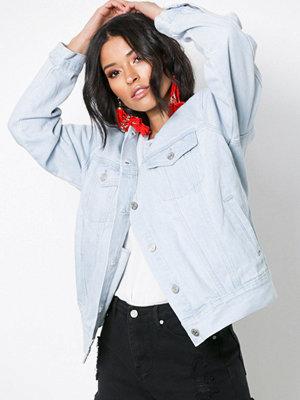 Jeansjackor - Missguided Oversized Denim Jacket Washed