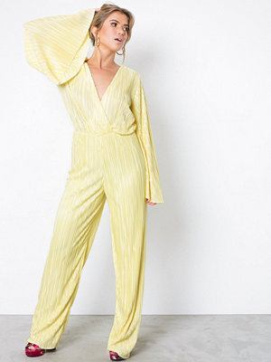 Jumpsuits & playsuits - NLY Trend Pleated Kimono Jumpsuit Gul
