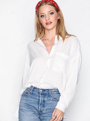 Vila Visuzan L/S Shirt Vit