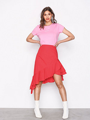 NLY Trend High Low Frill Skirt Lollipop