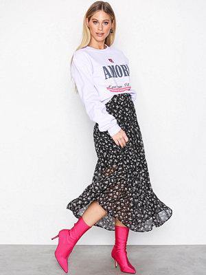 Vero Moda Vmminna Hw Ankel Skirt SB4 Svart