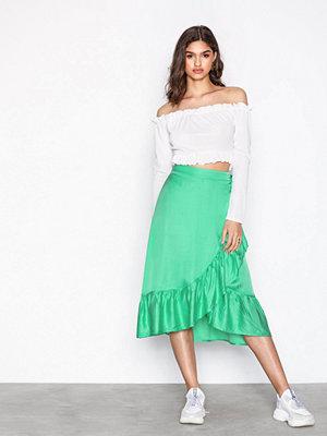NORR Pianna Skirt Grön
