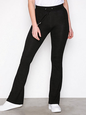 Topshop svarta byxor Soft Lounge Flare Trousers Black