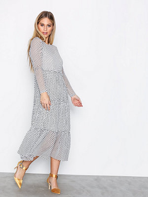 Vero Moda Vmsofie Ls Dress Offwhite