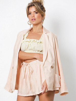 NLY Trend The Suit Shorts Beige