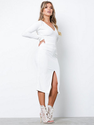 Honor Gold Jessica Midi Dress White