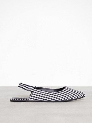 NLY Shoes Slingback Strap Ballerina Rutig