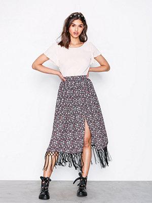 Glamorous Fringe Skirt Black