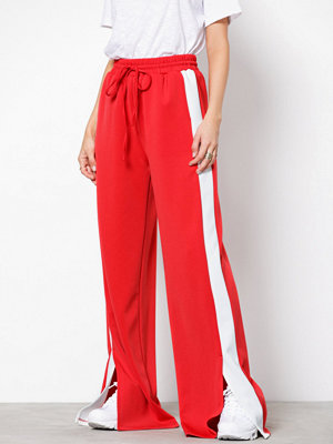 Glamorous omönstrade byxor Wide Leg Trousers Red