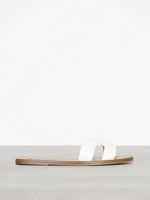 Sandaler & sandaletter - Steve Madden Lisa-M Slide Vit