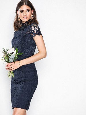 Chi Chi London Amani Dress Navy