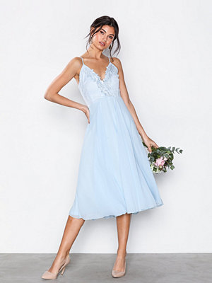 U Collection Perfect Short Dress Light Blue