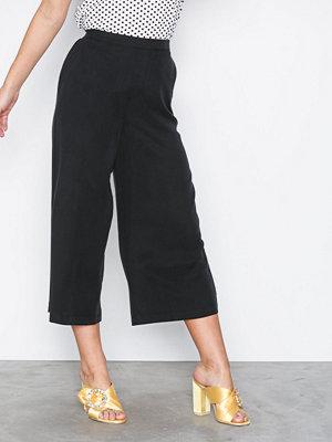 Vero Moda svarta byxor Vmdart Culotte Pants Ga Svart