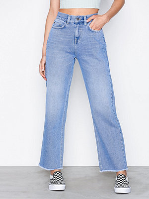 NLY Trend Retro Straight Denim Light Blue Denim