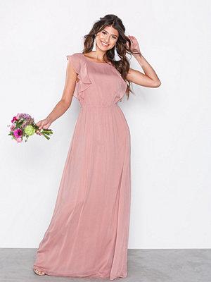 NLY Eve Flirty Flounce Gown Rose