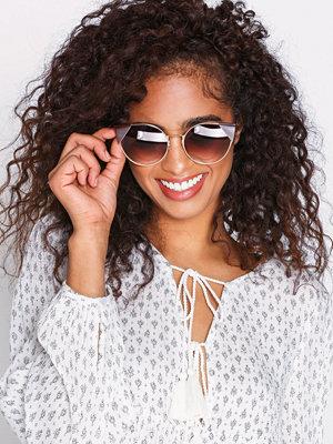 NLY Accessories Triangle Edge Sunglasses Brun