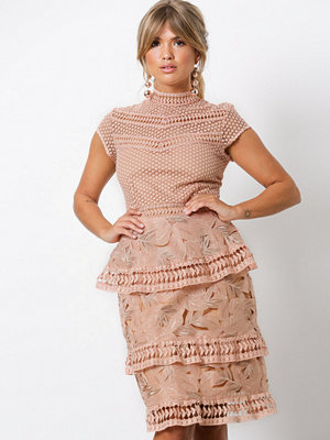 Y.a.s Yasyrsa Lace Dress Ljus Rosa