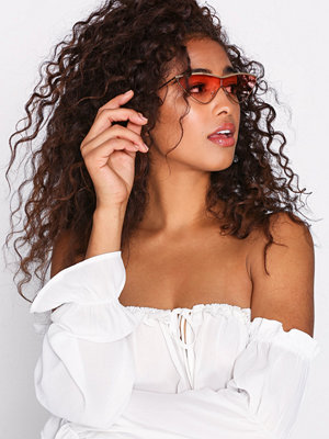 NLY Accessories Tinted Metall Sunglasses Rosa