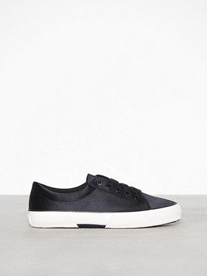 Lauren Ralph Lauren Jolie Sneakers Satin Svart