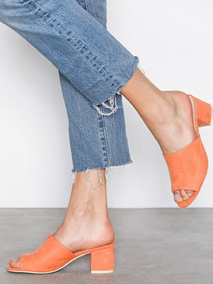 NLY Shoes Slip Heel Sandal Orange