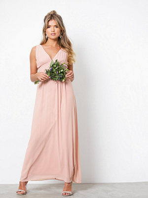 TFNC Valarie Maxi Dress Pearl Pink