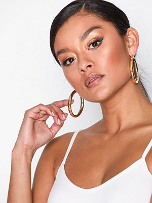 NLY Accessories örhängen Large Thick Hoops Guld