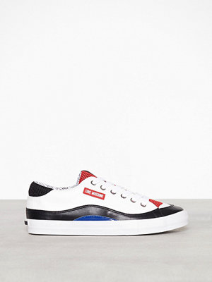 Love Moschino Lather Sneaker Vit