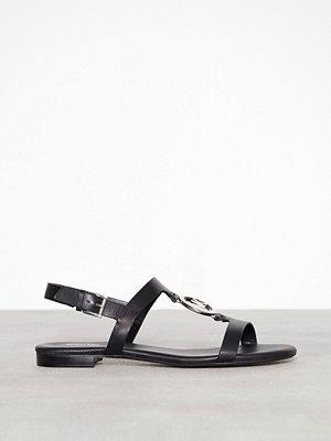 Sandaler & sandaletter - MICHAEL Michael Kors Beth Flat Sandal Svart