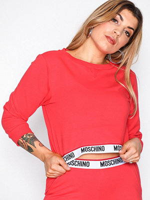 Pyjamas & myskläder - Moschino Sweatshirt Röd