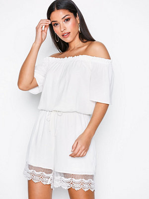 Only onlMAIKEN Off Shoulder Playsuit Wvn