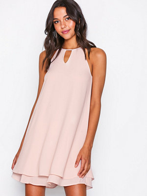 Only onlMARIANA Myrina S/L Dress Noos Wv Ljus Rosa
