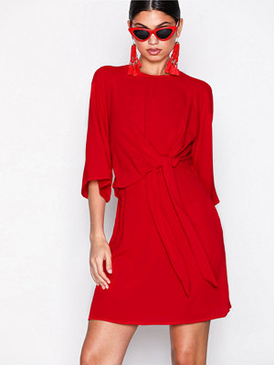 Ax Paris Knot Front Dress Red
