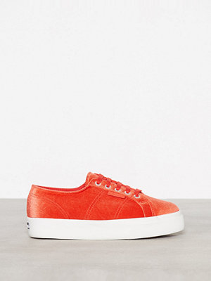 Superga 2730 Velvetchenillew Papavero