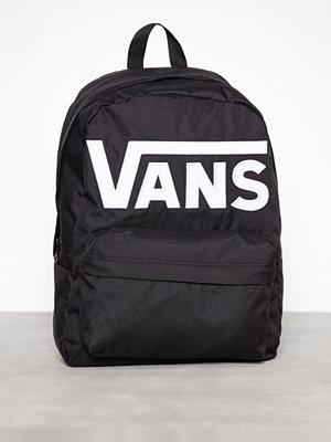 Vans Old Skool II Backpack Svart/Vit ryggsäck med tryck