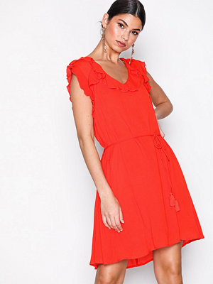 River Island Fleur Swing Dress Red