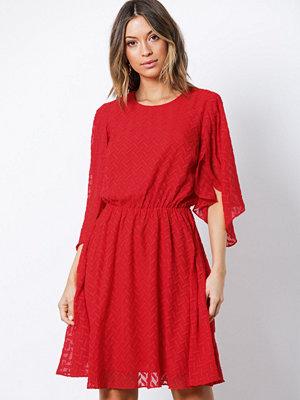 Y.a.s Yasscarlet Ss Dress Mörk Röd