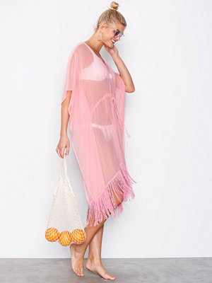 Pieces Pcibby Kaftan Beach Rosa
