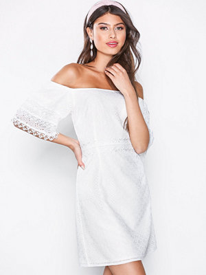 Little Mistress Lace Mini Dress White