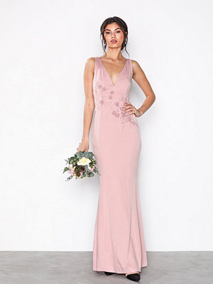 Little Mistress Rose Maxi Dress Rose
